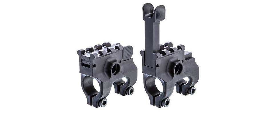 CAA AR15 Gas Block With Folding Sight