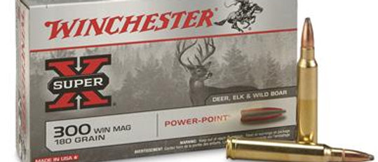 WINCHESTER 300 WIN MAG 180 GR POWER POINT (20)