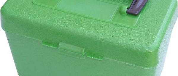 MTM AMMO BOX .220 SWIFT 30-06 GREEN