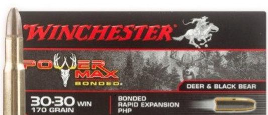 WINCHESTER 30-30 WIN 170 GR P-MAX BONDED (20)