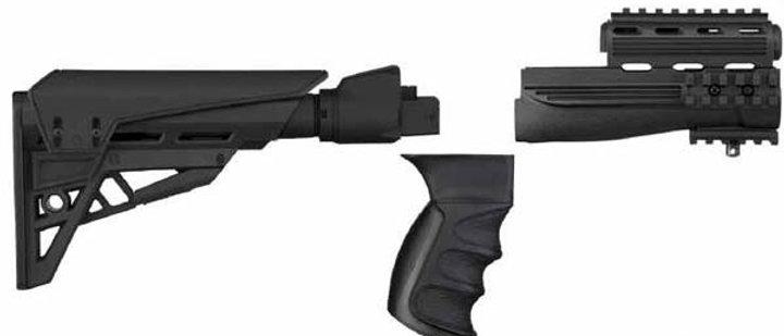 ATI T/LITE AK47 STRIKE FORCE FOLDABLE BLACK