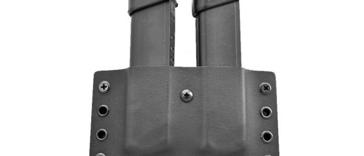 Daniels Holster - DS Steel 9/40 Double OWB Mag Pouch