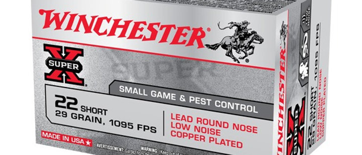 WINCHESTER 22 SHORT 29GR LEAD RN (50)