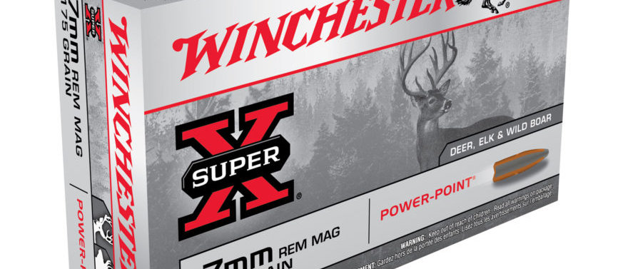 WINCHESTER 7MM REM MAG 175GR POWER POINT (20)
