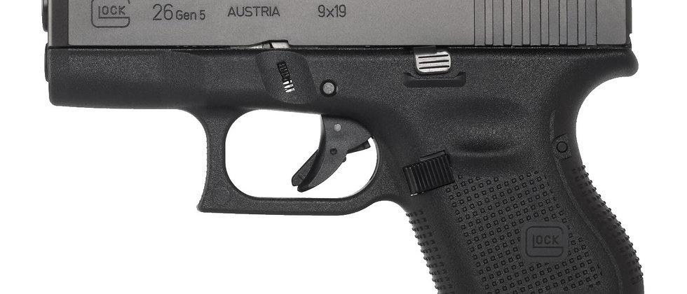 Glock 26 Gen5 9mm Para