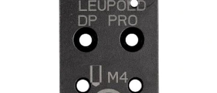 CZ P-10 Optics Ready Plate Leupold Del