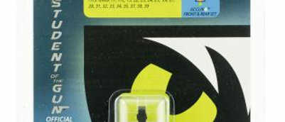 Night Fision Glock NS SH 45/10mm Square Rear W/W