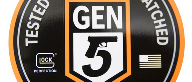 Glock Gen5 Tested Proven Unmatched Sticker