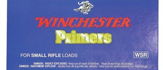 WIN PRIMERS SMALL RIFLE #6-1/2 116 (100)