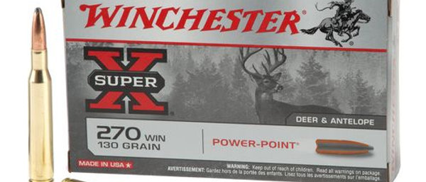 WINCHESTER 270 WIN 130GR POWER POINT (20)