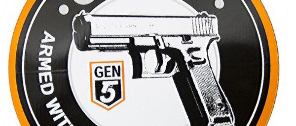 Glock Gen5 Armed Confidence Sticker