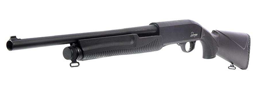 Sibergun D-CSSP 12GA P/Action Syn Shotgun