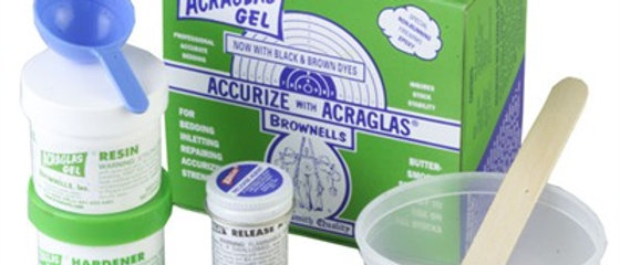 Brownells acraglass Kit