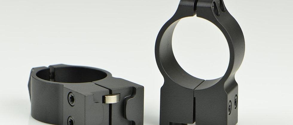 Warne Ringset 30mm Ruger 77 High Matte