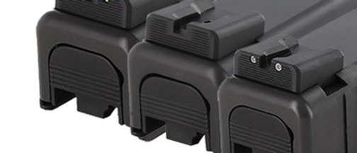 DP Glock 43 Fixed Carry Sight Set R&Fo