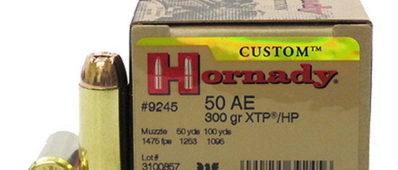 HORNADY 50AE 300GR XTP