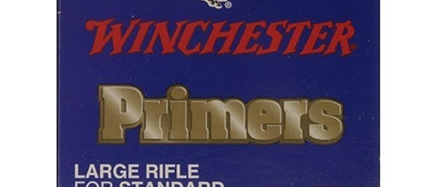 WIN PRIMERS LARGE RIFLE #8-1/2 120 (100)
