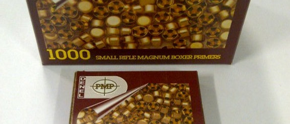 PMP Small Rifle Primers (100)