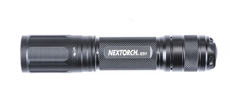 NexTorch E51 1000L Compact Rechargeable Flaslight