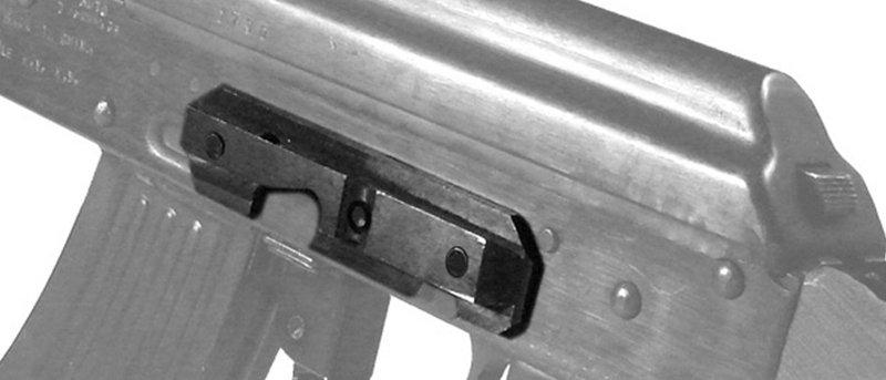 UTG AK47 STEEL DOVETAIL SIDE PLATE