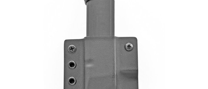 Daniels Holsters - DS Steel 9/40 Single IWB Mag Pouch