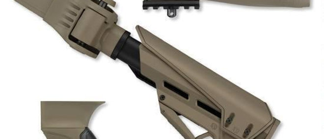 ATI T/LITE AK47 S/FORCE PKG.ADJ.FOLD.EARTH