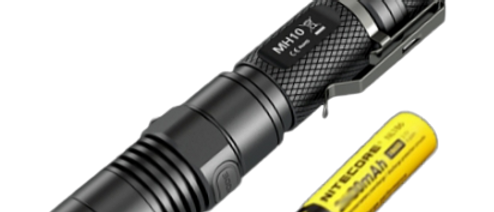 Nitecore MH10 + 2600mAh Battery + USB Charger Cable