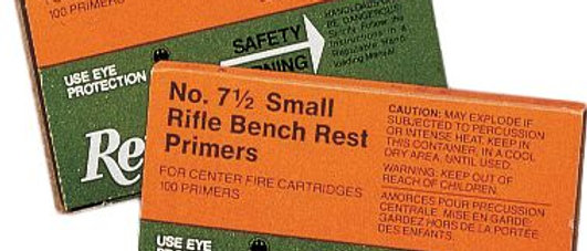 Remington Primers 6-1/2 Small Rifle