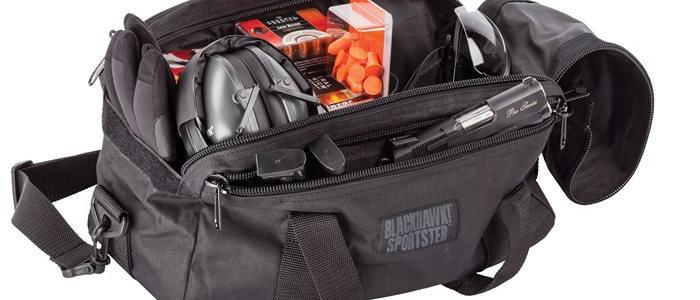 BH Sportster Pistol Range Bag Black