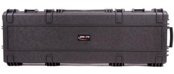 Ampro 1303214 Rugged D Rifle Case W/Wheels