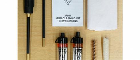 Compact Handgun Cleaning kit .45 2Pce