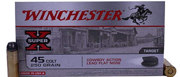 WINCHESTER 45 COLT 250GR RN LEAD COWBOY (50)