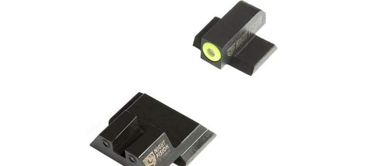 NF Tritium Sight Yellow & Black Square Rear M&P