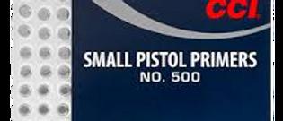 CCI 500 Small Pistol Primers