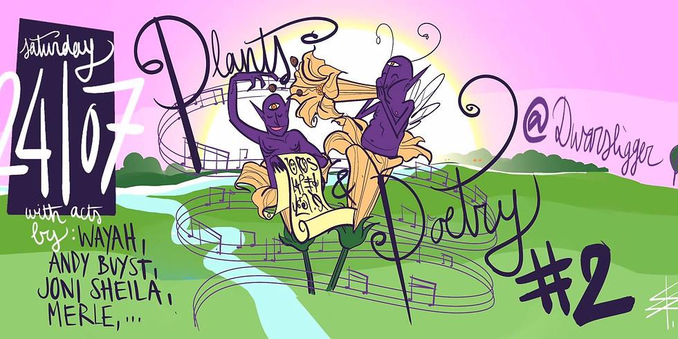 Plants & Poetry Pt2 : met Merle, Andy Buyst, Joni sheila & Wayah  (1)