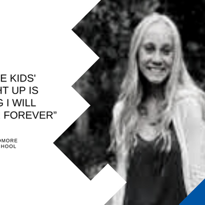 Student, Jessica Ditter, Discusses What Opportunity Looks Like for Her