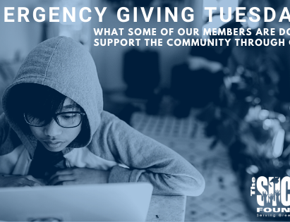 Emergency Giving Tuesday – How Members of The Success Foundation are Getting Involved