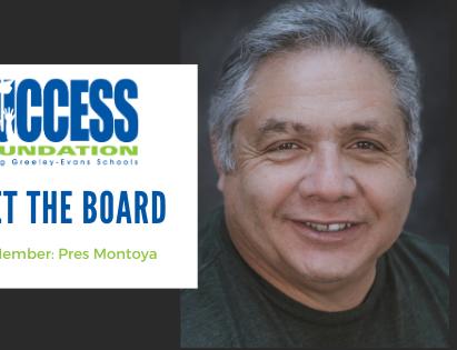 Board Member Highlight: Pres Montoya