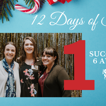 12 Days of Success: Day 1 - Success in 6 Awards