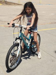 Heiman Elementary Student is Awarded a Bicycle through Ride4Success