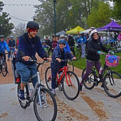 Madison Teacher, Misty Garcia, Bikes for Better Learning