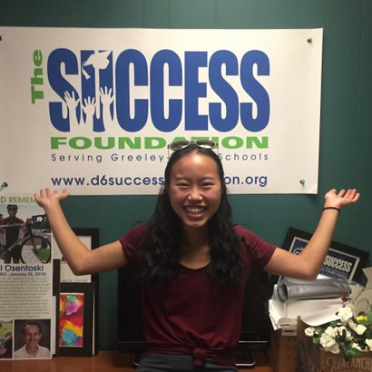 University Schools Senior, Anna Bedell, Reflects on Intern Experience with The Success Foundation