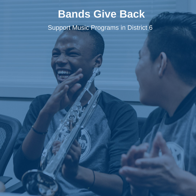 Bands Give Back