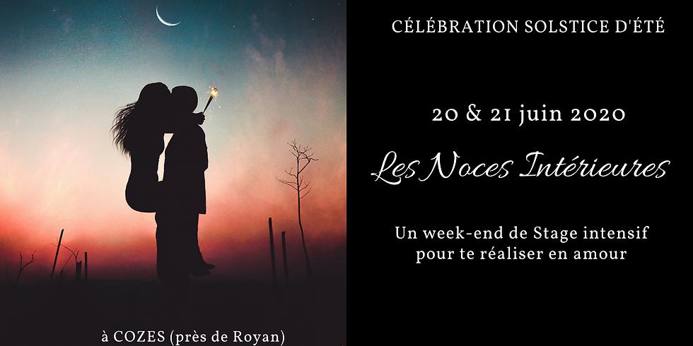 """Week-end Stage intensif """"Les Noces Intérieures"""""""