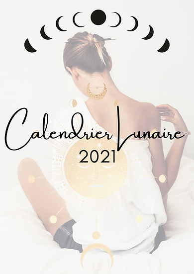 Calendrier Lunaire 2021 Vivre en harmonie avec son cycle menstruel