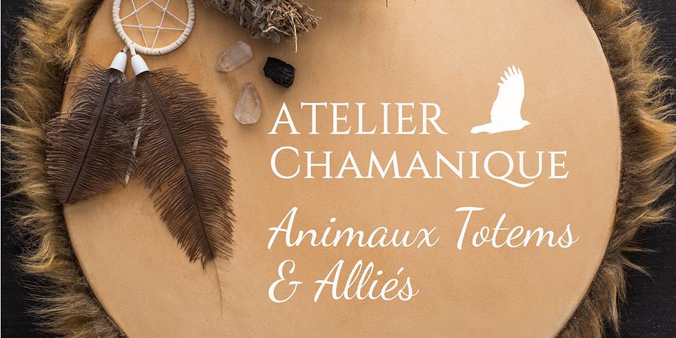 Atelier Chamanique : Les Animaux Totems et Alliés