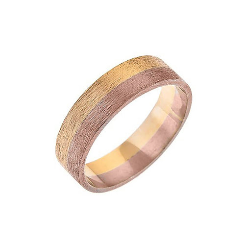 18ct Gold Moondust Ring