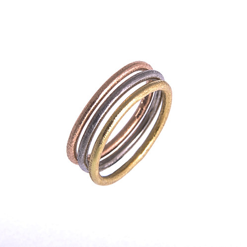 Anne Morgan Jewellery- 18ct Gold Stacking Rings
