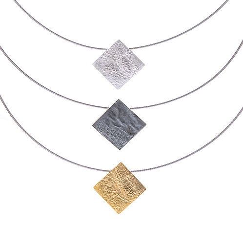 Moonscape Square Pendant