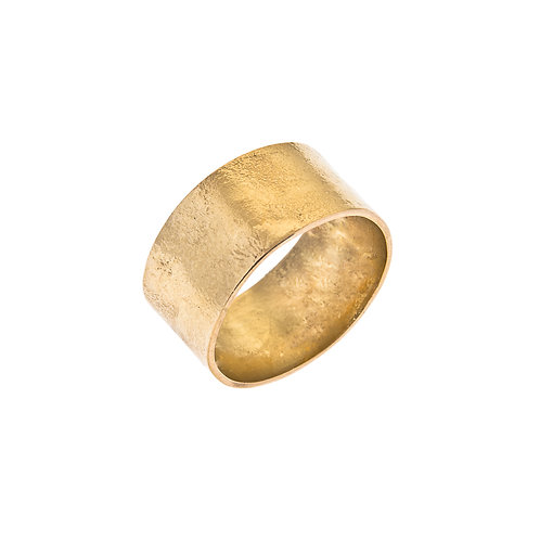 Moonscape 18ct Yellow Gold Ring